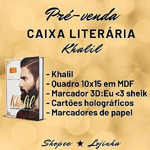 CAIXA LITERÁRIA - khalil + brindes (edição especial e autografado  ( À VISTA: 68,00). Checar valor na shopee