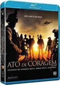 Blu-Ray - Ato de Coragem - Act of Valor