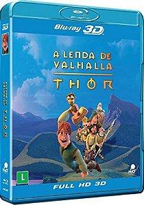 Blu-Ray 3D/2D – A Lenda de Valhalla: Thor