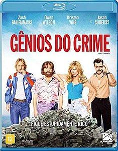 Blu-Ray - Gênios Do Crime - Owen Wilson