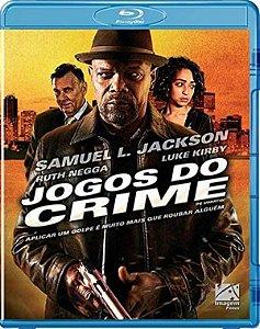 Blu-Ray Jogos do Crime - Samuel L. Jackson