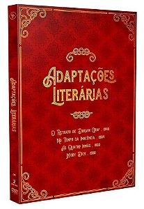 DVD DUPLO  ADAPTAÇOES LITERARIAS