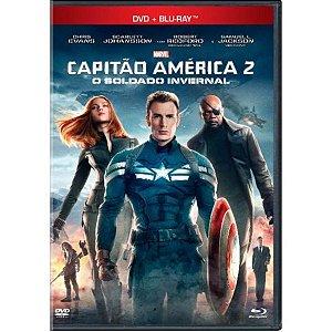 DVD + Blu-ray - Capitão América 2 - O Soldado Invernal