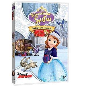 DVD - Princesinha Sofia - Feriado em Encantia