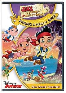 DVD - Jake e os Piratas da Terra do Nunca: Salvando a Terra do Nunca