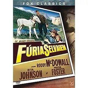 DVD Fúria Selvagem - Roddy McDowall