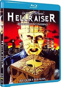 Blu-ray Hellraiser: Renascido do Inferno