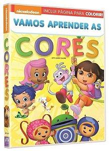 DVD - Nickelodeon Jr.: Vamos Aprender as Cores