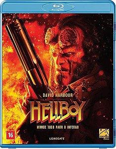Blu-Ray - Hellboy - Mande Tudo Para O Inferno - EXCLUSIVO