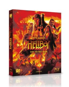 Blu-Ray (LUVA) Hellboy - Mande Tudo Para O Inferno EXCLUSIVO