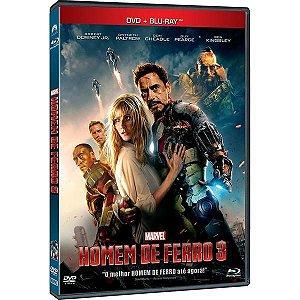DVD + Blu-Ray - Homem de Ferro 3