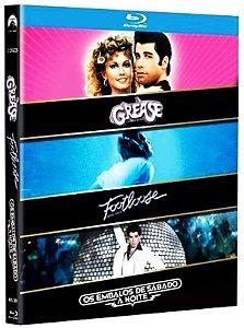 Blu-Ray Grease - Embalos de Sábado A Noite - Footloose