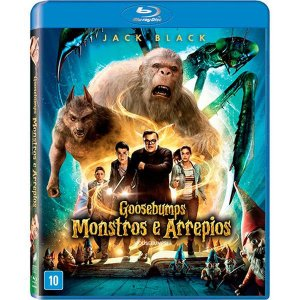 Blu-Ray Goosebumps: Monstros e Arrepios - Jack Black