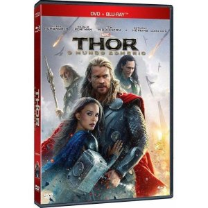 Blu-ray + Dvd Thor 2 O Mundo Sombrio