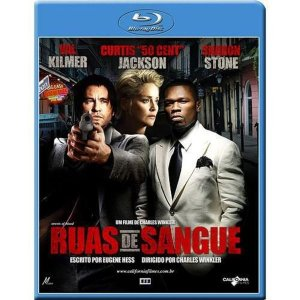 Blu-Ray Ruas De Sangue - Val Kilmer - Sharon Stone