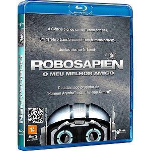 Blu-ray Robosapien - O Meu Melhor Amigo