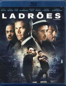 Blu-Ray Ladrões - Matt Dillon - Paul Walker