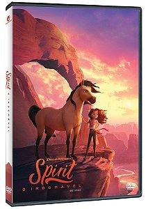 DVD Spirit: O Indomável - O Filme - Pré venda entrega a partir de 29/09/21