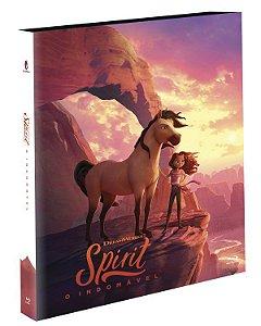 Blu-Ray (LUVA) Spirit: O Indomável - O Filme - EXCLUSIVO Pré venda entrega a partir de 29/09/21