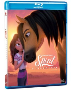 Blu-Ray Spirit: O Indomável - O Filme - Pré venda entrega a partir de 29/09/21