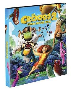 Blu-Ray (luva)  OS CROODS 2: UMA NOVA ERA - EXCLUSIVO Pré venda entrega a partir de 29/09/21
