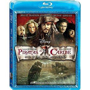 Blu-ray Piratas do Caribe 3 - No Fim do Mundo