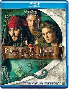 Blu-ray Piratas do Caribe 2 O Baú da Morte
