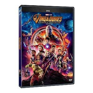 DVD - Vingadores Guerra Infinita