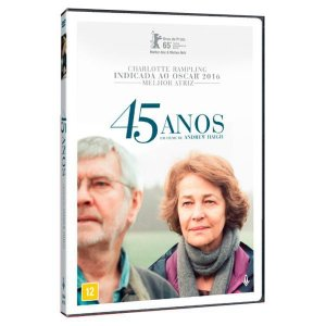 Dvd 45 Anos (2015) Charlotte Rampling - Imovision