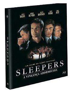 Blu-Ray (LUVA)  Sleepers - A Vingança Adormecida - (EXCLUSIVO) Pré venda entrega a partir de 29/09/21