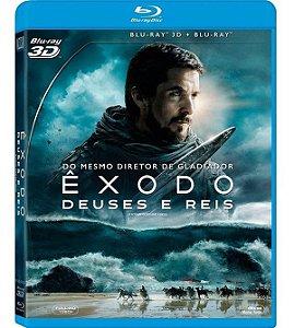 Blu-ray + Blu-ray 3D - Êxodo: Deuses e Reis (2 Discos)