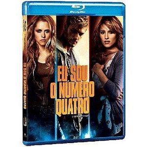 Blu-ray Eu Sou o Número Quatro