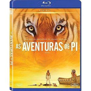Blu-Ray As Aventuras De Pi