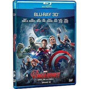 Blu-Ray 3d - Os Vingadores - Era De Ultron