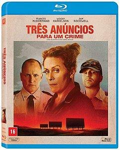 Blu-ray Três Anúncios Para Um Crime