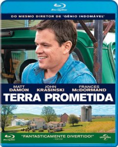 Blu-ray Terra Prometida - Matt Damon