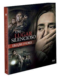 Blu-Ray Coleção Um Lugar Silencioso 2 Filmes - Pré venda entrega a partir de 06/10/21
