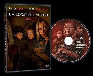 DVD Um Lugar Silencioso Parte 2 - Pré venda entrega a partir de 06/10/21
