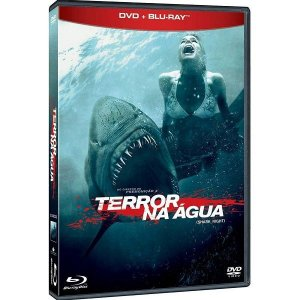 Blu Ray + Dvd  Terror Na Água (2 Discos)