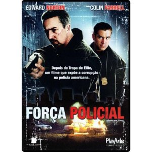 Dvd Força Policial - Colin Farrel