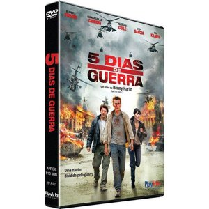 DVD 5 Dias de Guerra - Val kilmer