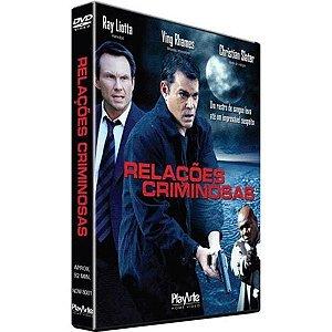 DVD Relações Criminosas