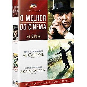 DVD DUPLO O Melhor Do Cinema - Máfia