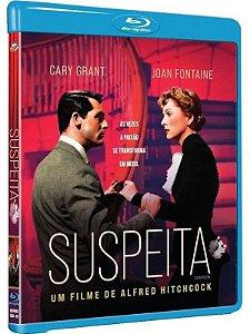 Blu-ray - Suspeita - Alfred Hitchcock