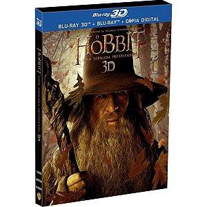 Blu-Ray 3D + BD O Hobbit Uma Jornada Inesperada (4 DISCOS)