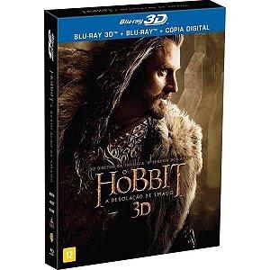 Blu-ray 3D + BD  O Hobbit - A Desolação De Smaug (4DISCOS)
