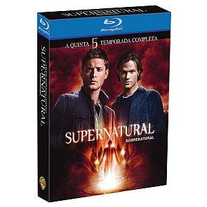 Blu-ray - Supernatural - 5ª Temporada