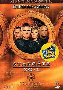 Dvd Stargate Sg1 6ª Temporada (5 Discos)