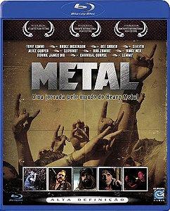 Blu-ray Metal Uma Jornada Pelo Mundo Do Heavy Metal
