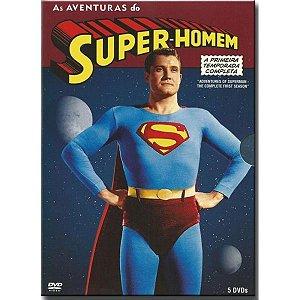 DVD Box Superman As Aventuras 1ª Temporada ( 5 Discos )